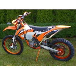 KOŁA 21-18 KTM SX EXC 2000-2018 ORANGE KOMPLET